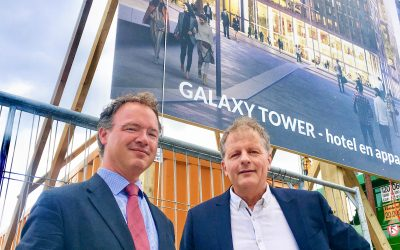 Start bouw Galaxy Tower